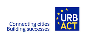 URBACT - Connecting cities Building successes logó