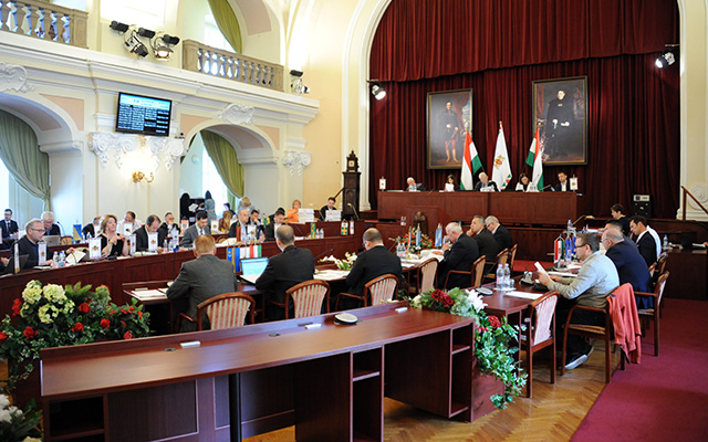 The General Assembly of Budapest decided about the sister city relations between Krakow and Budapest